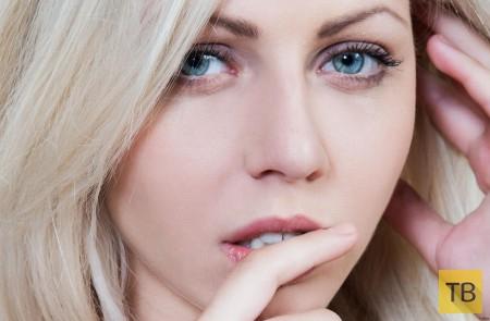 Красавица-блондинка (14 фото)