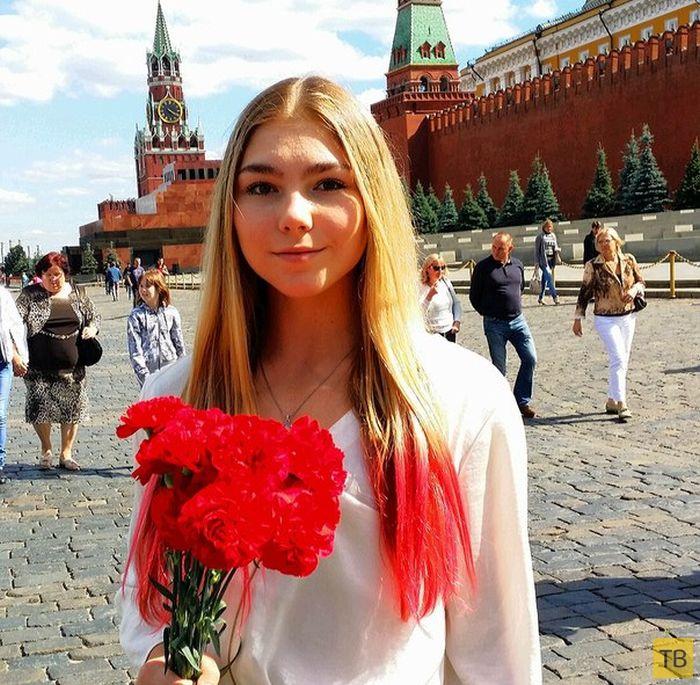 15-летняя россиянка Марьяна Наумова подняла штангу весом в 145 кг (25 фото)