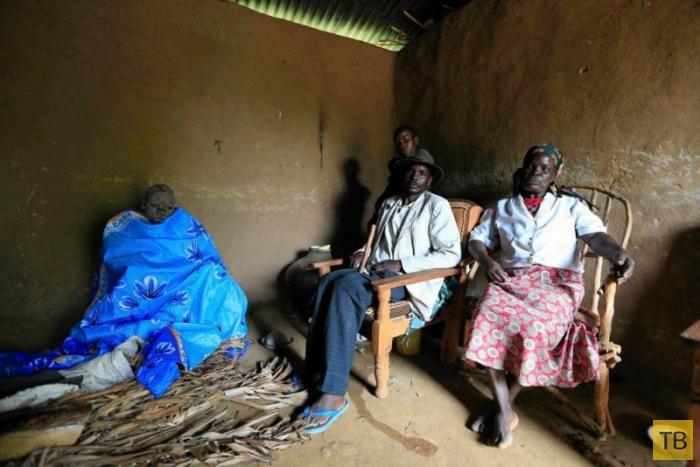 Ритуал обрезания в Кении (17 фото)