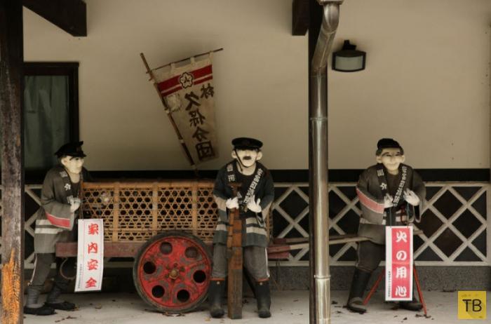 Окухарима - деревня пугал в Японии (20 фото)