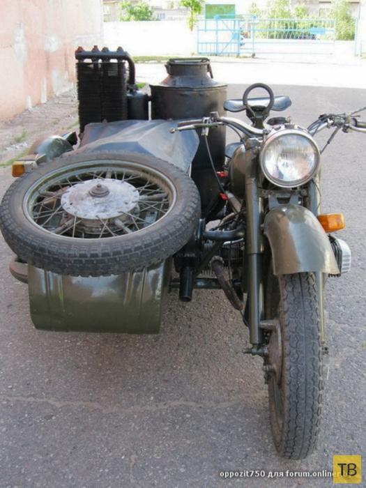 Мотоцикл, работающий на дровах (5 фото)