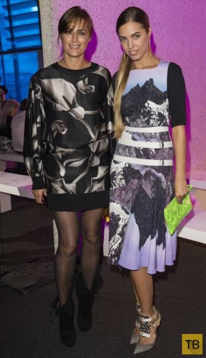 49-летняя супермодель и ее 25-летняя дочь выглядят как сестры (18 фото)