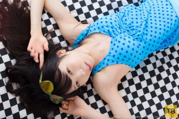 Ао-нян - японская супер-женственная модель мужского пола (9 фото)