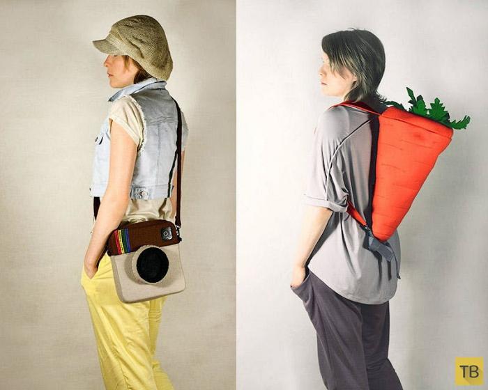 Забавные и оригинальные сумочки (28 фото)