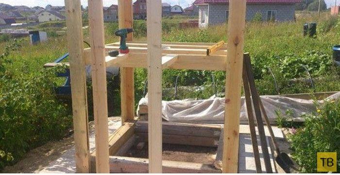 Игровой домик на даче своими руками (20 фото)