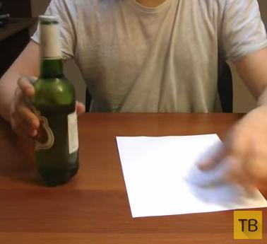 5 трюков с бутылкой
