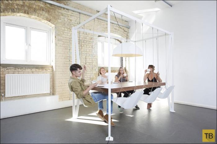 Столы с самыми необычными дизайнами (28 фото)