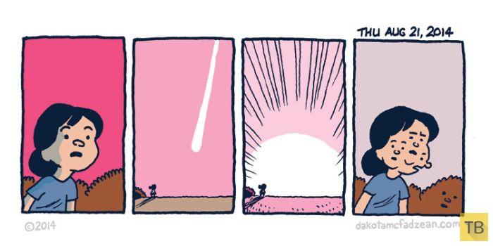 Веселые комиксы и карикатуры, часть 197 (18 фото)