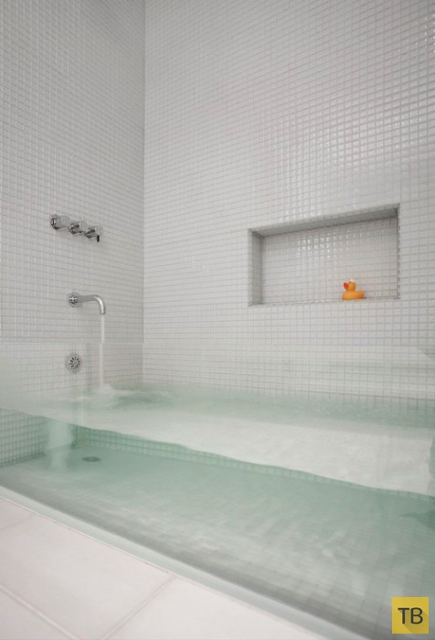 Великолепные дизайнерские идеи для ванной комнаты (22 фото)