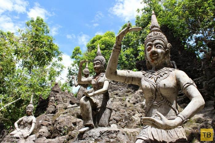 Магический сад Будды в Самуи (9 фото)