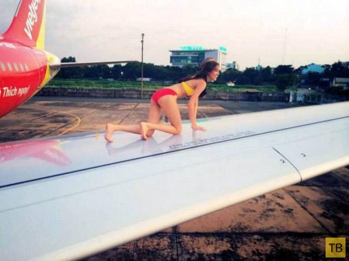 Реклама вьетнамского авиаперевозчика VietJet (7 фото + видео))