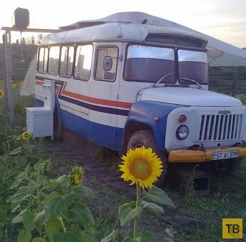 Дом на колесах от молдавских тюнинг-мастеров (5 фото)
