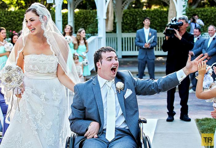 Свадьба мечты в Диснейленде (5 фото)