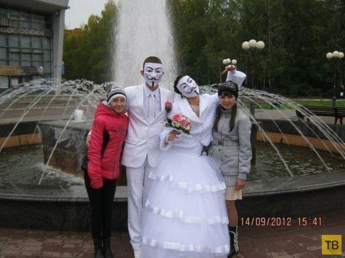 Свадебные приколы и фэйлы (62 фото)