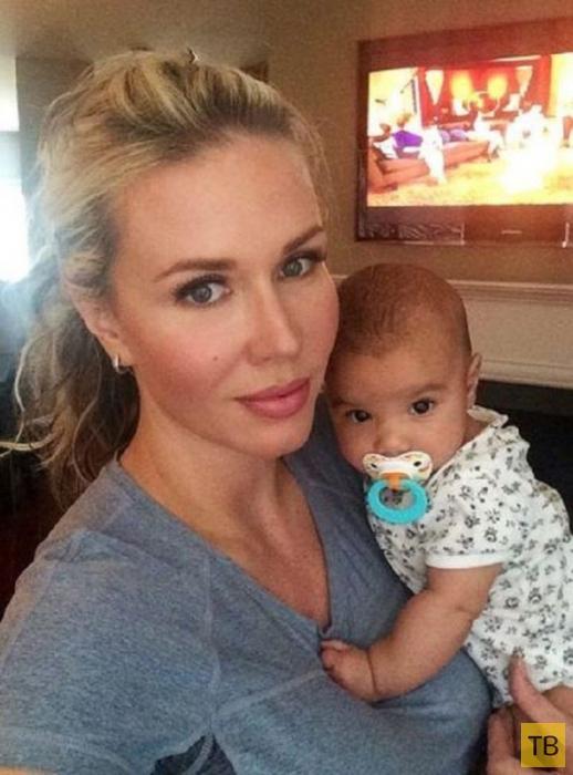 Материнская любовь - страшная сила, девушка спасла своему ребенку жизнь (3 фото)
