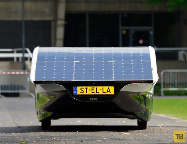 «Stella» — электрокар с запасом хода 800 км (3 фото)