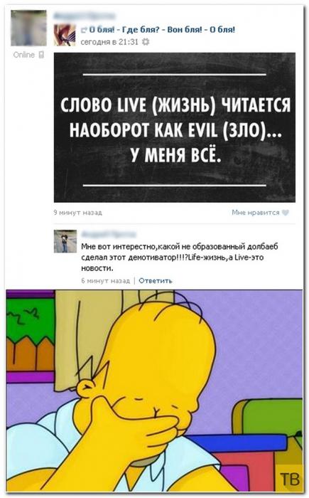 Прикольные комментарии из социальных сетей, часть 220 (35 фото)