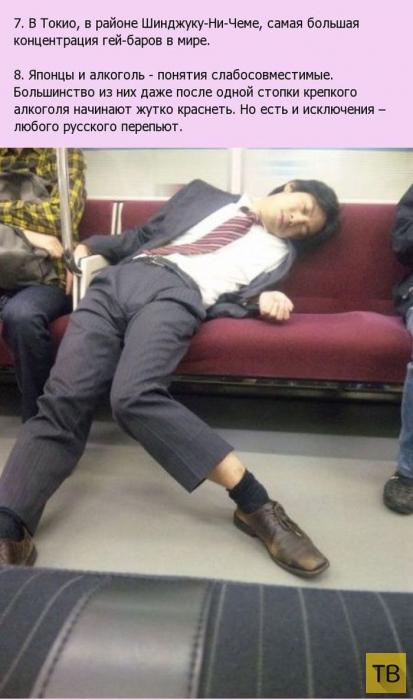 Интересные факты о Японии (19 фото)