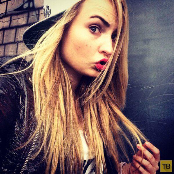 Немецкая певица Kim Petras (14 фото)