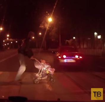 Пьяный водитель сбил девушку... ДТП в г. Воронеж