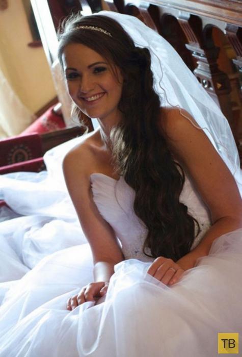 Свадебное платье стало стимулом для похудения (13 фото)