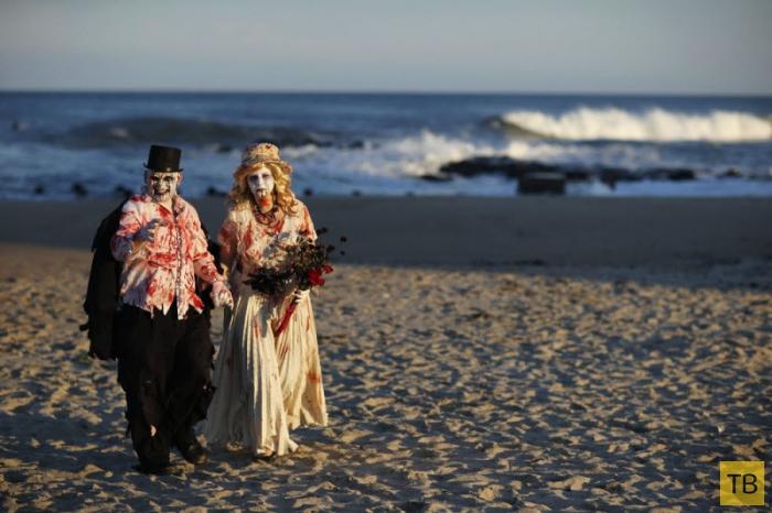 Zombie Walk в Нью-Джерси (18 фото)