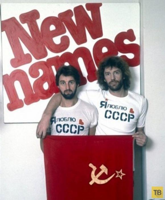 Редкие фотографии российских знаменитостей (28 фото)