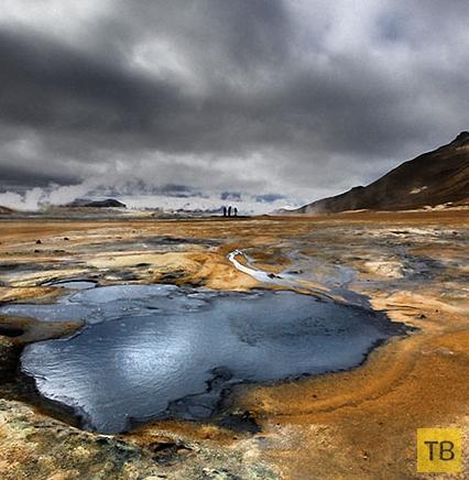 Топ 6: Безжизненные места на Земле (12 фото)