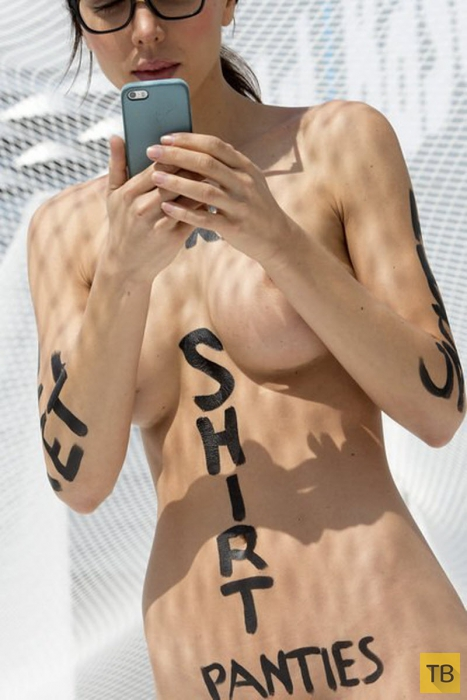 (18+) Швейцарская художница Milo Moiré хочет освободить свой ум (22 фото)