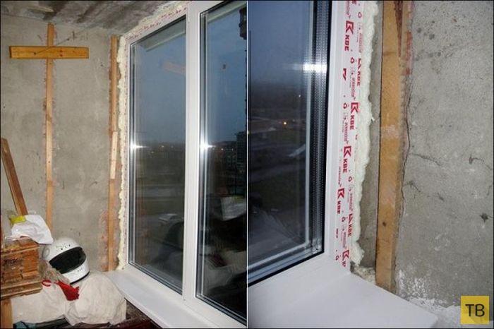 Превращаем захламленный балкон в кабинет (20 фото)