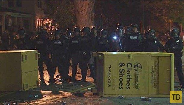 Тыквенный фестиваль в США перерос в массовые беспорядки (8 фото)