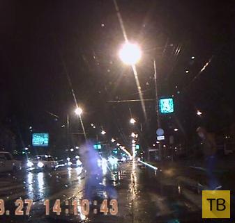 Медвежья услуга... Сбили пешеходов на ул. Дзержинского, г. Краснодар