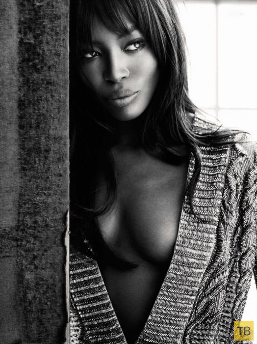 Наоми Кэмпбелл для Vanity Fair Spain November 2014 (7 фото)