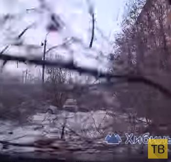 Внезапно упало дерево... ДТП на ровном месте в Хибинах, Мурманская область