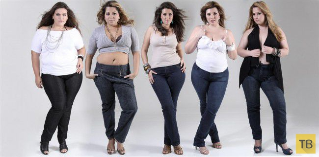 Девушки в теле (35 фото)