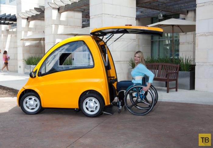 Кенгуру – электромобиль для людей с ограниченными возможностями (7 фото)