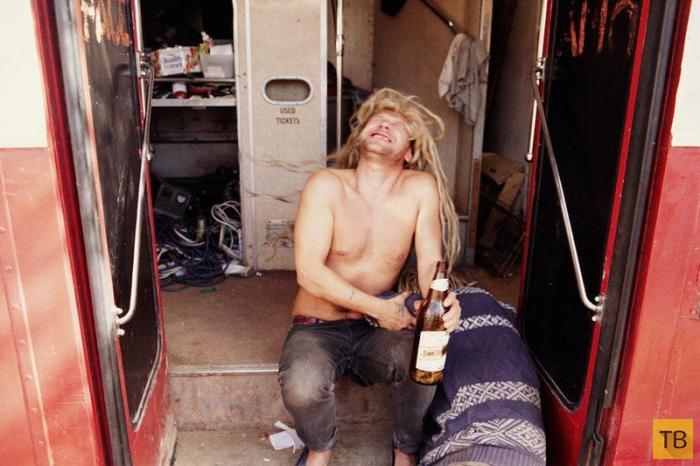 Кочевые рейв-вечеринки 90-х годов прошлого века (14 фото)