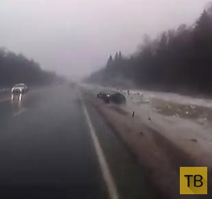Принесло со встречки... ДТП на Киевском шоссе