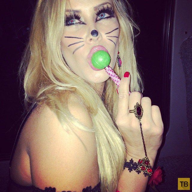Фотоотчет с ежегодной вечеринки Playboy Halloween Party 2014 (58 фото)
