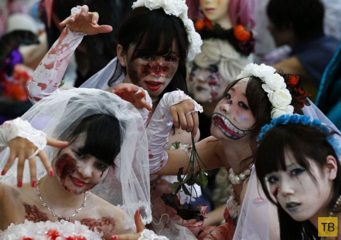 Хэллоуин парад в Японии (11 фото)