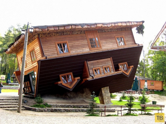Топ 34: Самые оригинальные дома (34 фото)