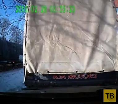 Не паркуйтесь за грузовиком... ДТП в г. Иркутск