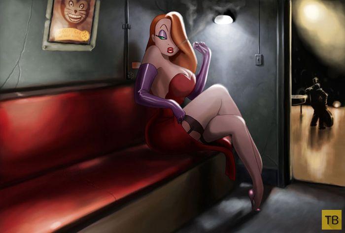 Девушка потратила 7 лет жизни, чтобы стать похожей на героиню мультфильма (31 фото)