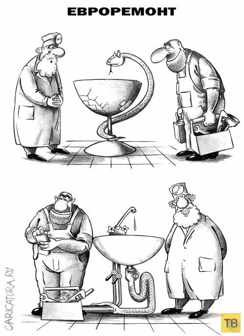 Веселые комиксы и карикатуры, часть 215 (16 фото)