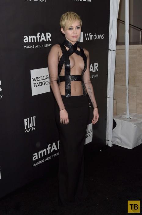 Рианна и Майли Сайрус на 2014 amfAR LA Inspiration Gala (20 фото)