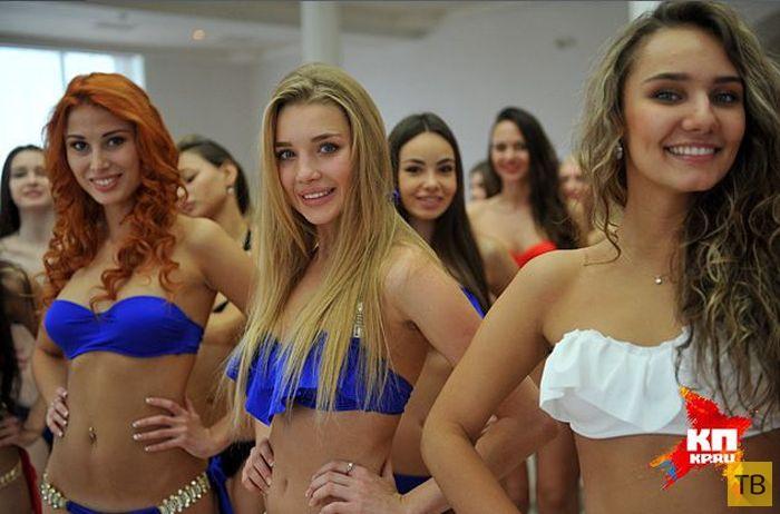 Конкурсантки «Краса России» надели официальные купальники (22 фото)