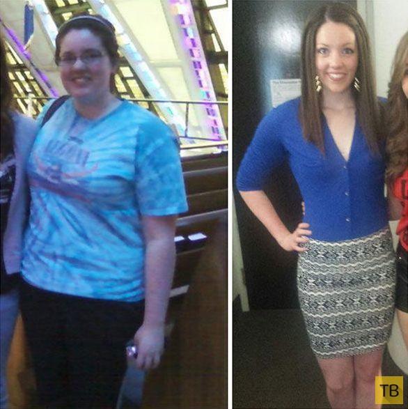 Девушки. победившие лишний вес (18 фото)