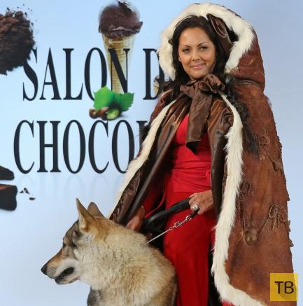 Салон шоколада в Париже (55 фото)