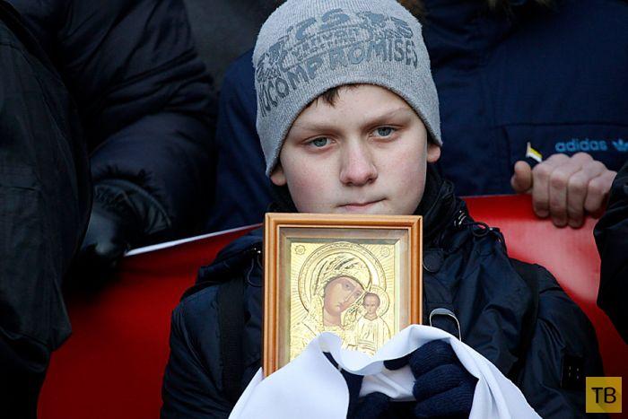 Москва в День народного единства (34 фото)
