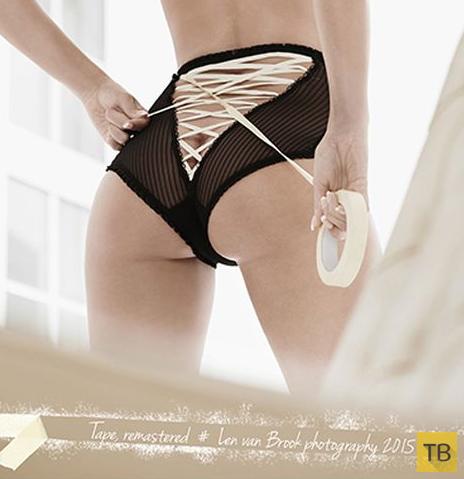 Эротический календарь компании Tox (13 фото)